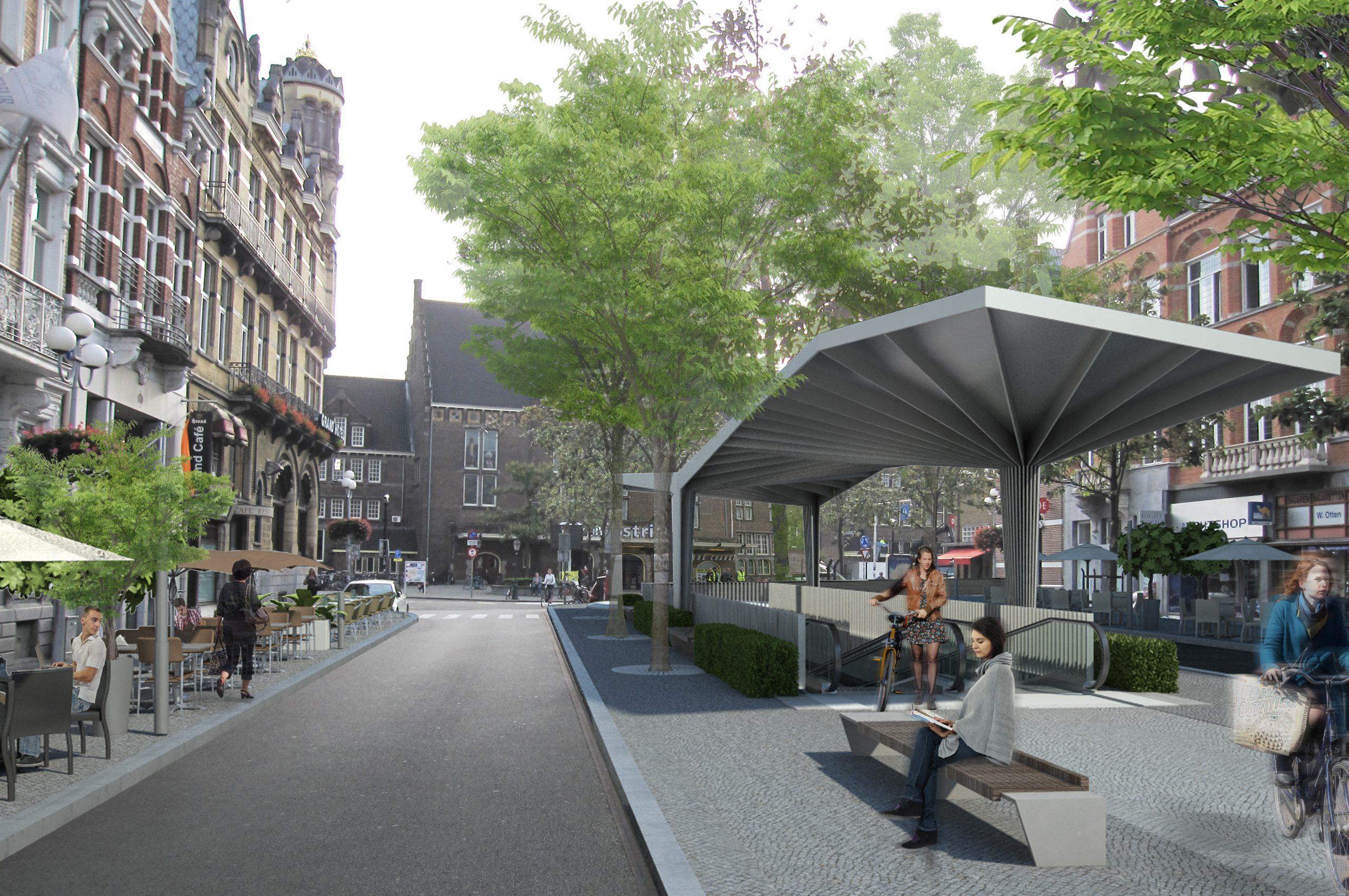 Stationsplein, Maastricht