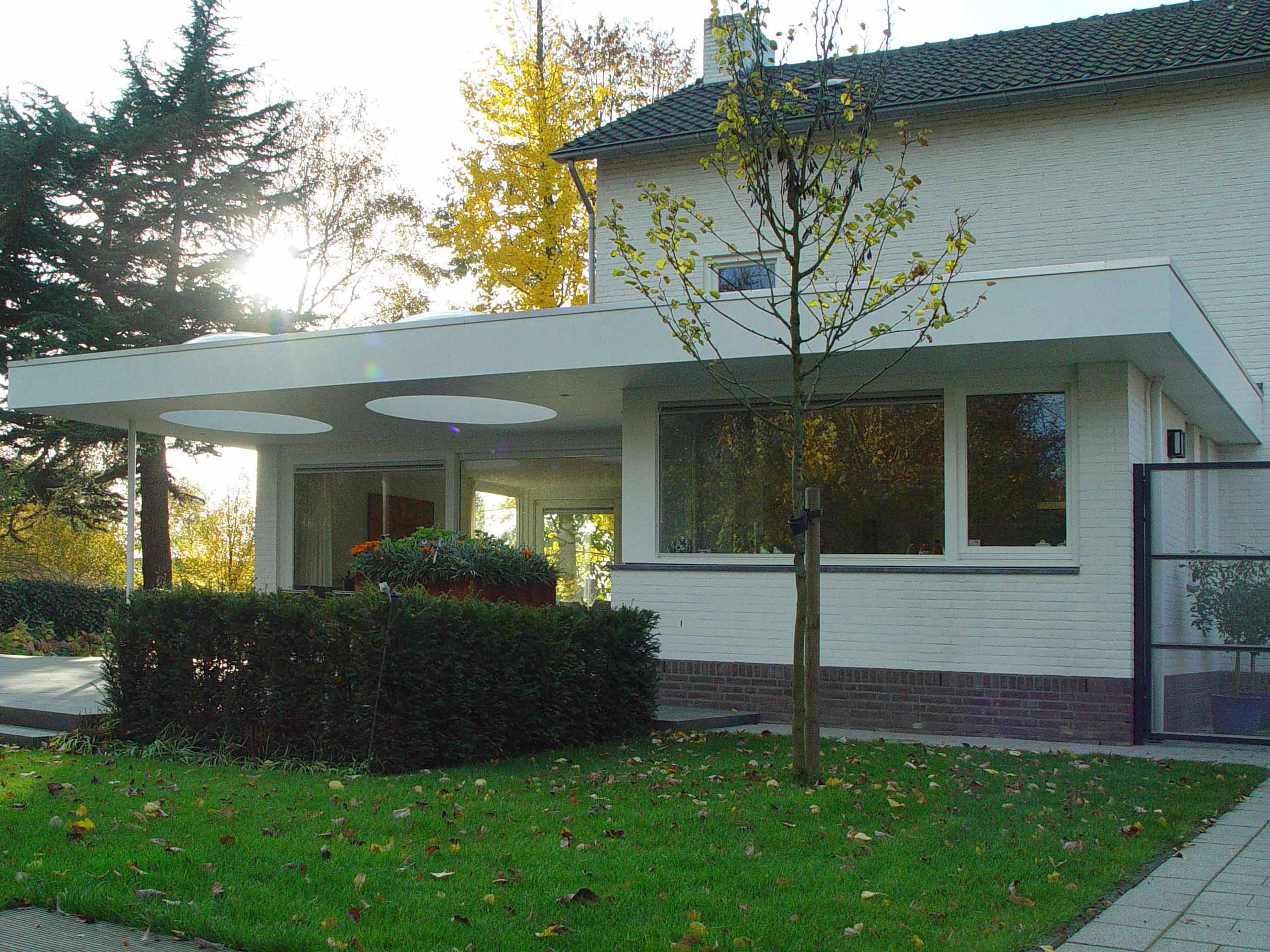 Verbouwing vrijstaand woonhuis, Bunde